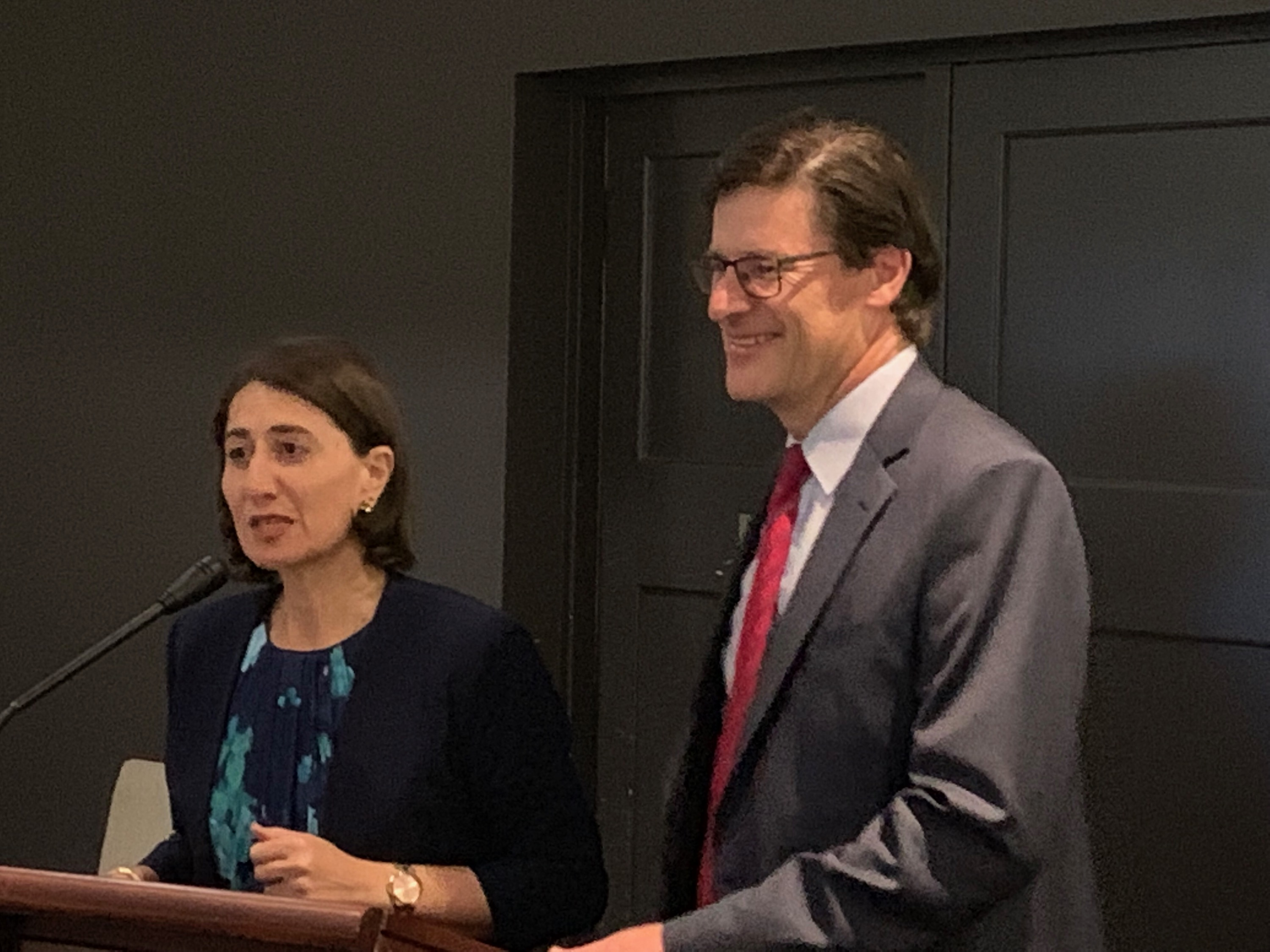 Premier Gladys Berejiklian launches Jonathan O'Dea's Campaign at Pymble Golf Club on Tuesday 5 February 2019