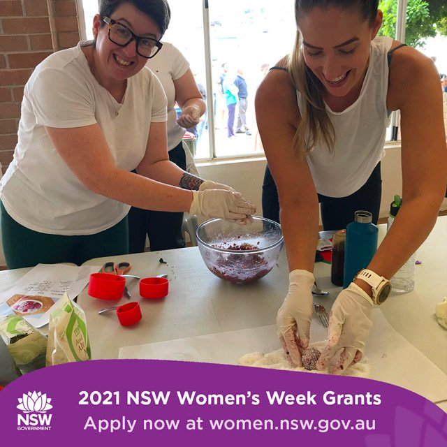 Grants available for Women's Week Events 2021