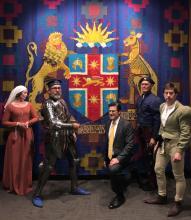 Jonathan O'Dea becomes a 'Knight'
